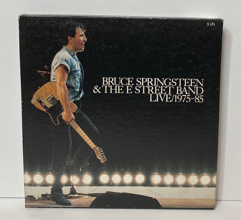 Bruce Springsteen- Live 1975-85 5LP Box