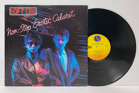 Soft Cell- Non- Stop exotic cabaret LP