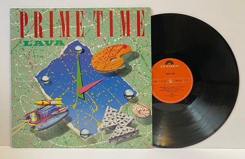 Prime Time - Lava [LP] [Norway Press]
