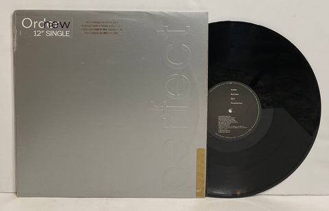 New Order- Perfect Kiss LP PROMO SINGLE