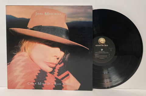 Joni Mitchell- Chalk mark in a rain storm LP