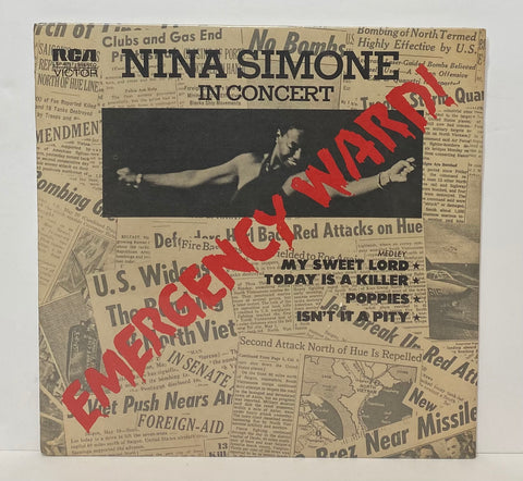 Nina Simone- In concert LP SEALED PROMO