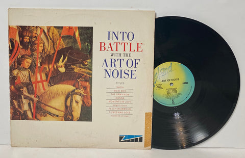 Art of Noise- Into battle LP