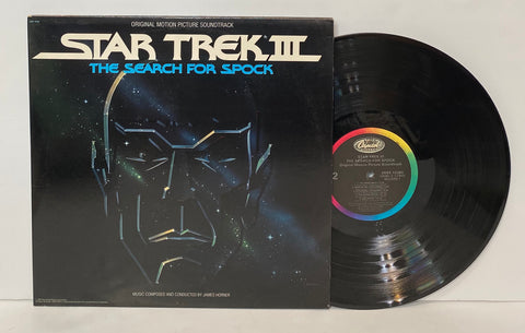 Star Trek III- The search for Spock Original movie soundtrack LP