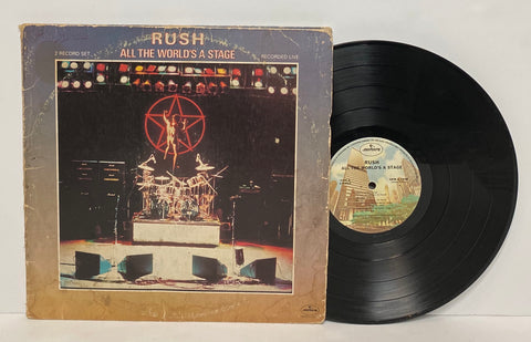 Rush- All the world's stage 2LP