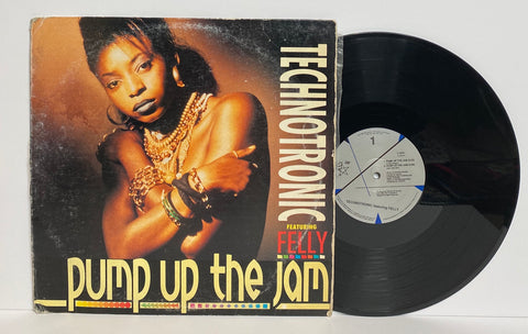 Technotronic Featuring Felly- Pump up the jam LP Single