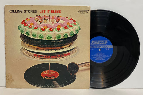 The Rolling Stones- Let it bleed LP Poster
