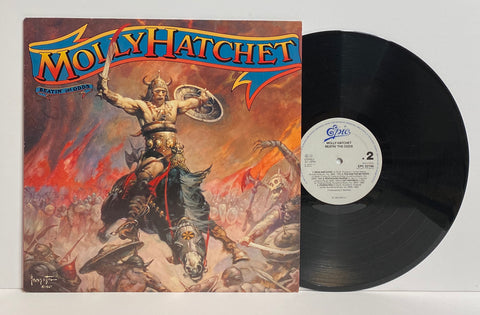 Molly Hatchet- Beatin' the odds LP Holland