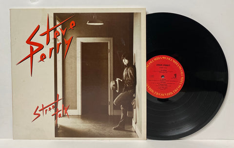 Steve Perry ‎– Street talk LP