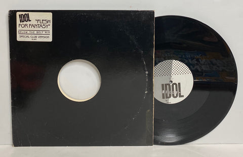 Billy Idol - Flesh For Fantasy LP Single