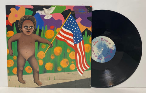 Prince- America/Girl LP SINGLE PROMO