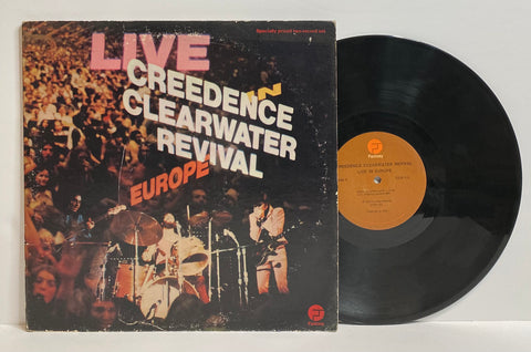 Creedence Clearwater Revival- Live in Europe 2LP