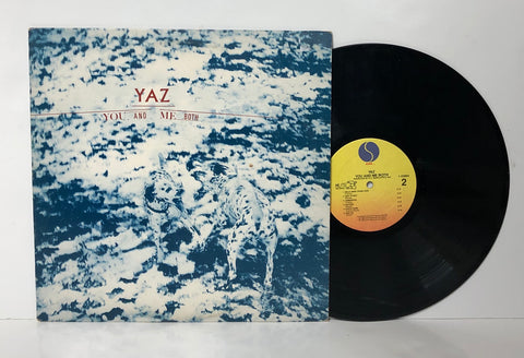 Yaz- You and me both LP