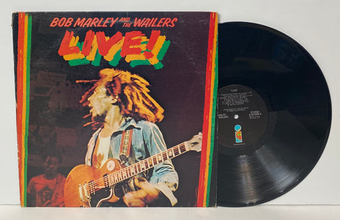 Bob Marley and The Wailers- Live! LP