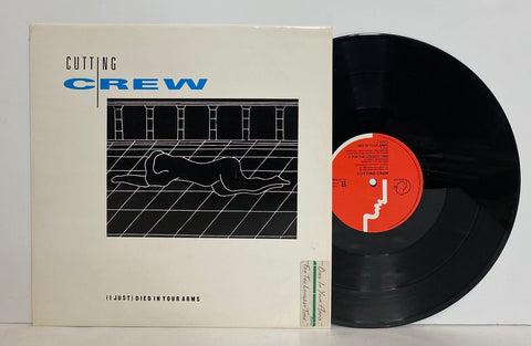 Cutting crew- (I just) died in your arms LP SINGLE UK