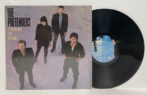 The Pretenders- Learning to crawl LP