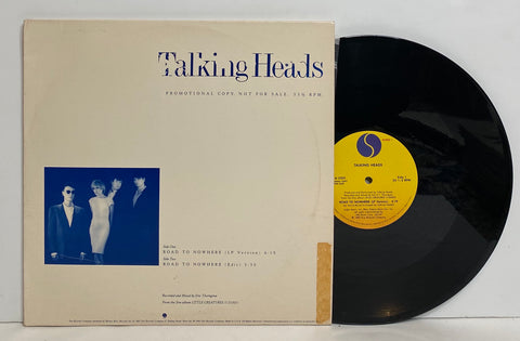 Talking Heads- Road to nowhere LP SINGLE PROMO