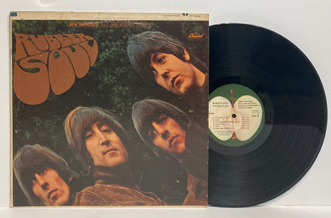 The Beatles- Rubber soul LP STEREO
