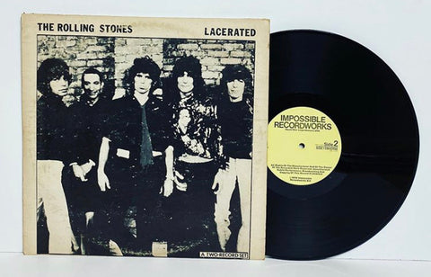 The Rolling Stones- Lacerated 2LP