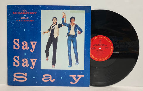 Paul McCartney & Michael Jackson - Say Say Say LP Single