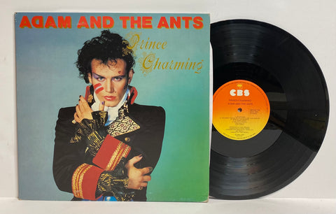Adam and The Ants- Prince charmin LP Australia Press