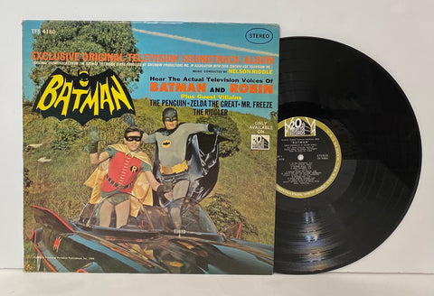 Batman- Original Television Soundtrack LP by Nelson Riddle