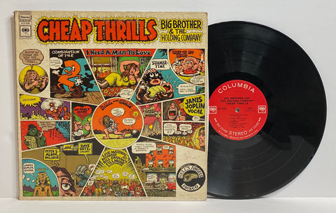 Big Brother and The Holding Company- Cheap Thrills LP