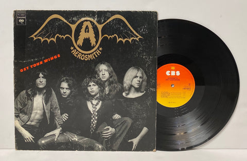 Aerosmith- Get your wings LP Europe Press