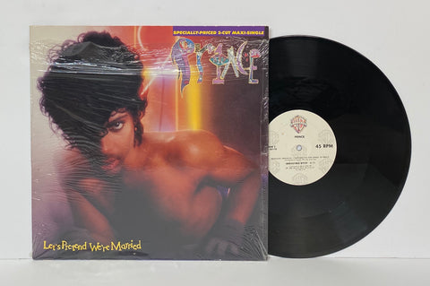 Prince- Let's pretend we are married LP SINGLE
