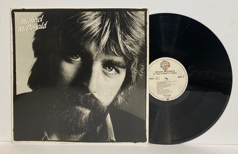 Michael McDonald - If That's What It Takes [LP] [Germany Press]