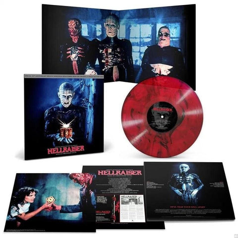 Hellraiser (Soundtrack) [LP] (30th Anniversary, Multi-Colored Translucent Red with Black Smoke Vinyl)