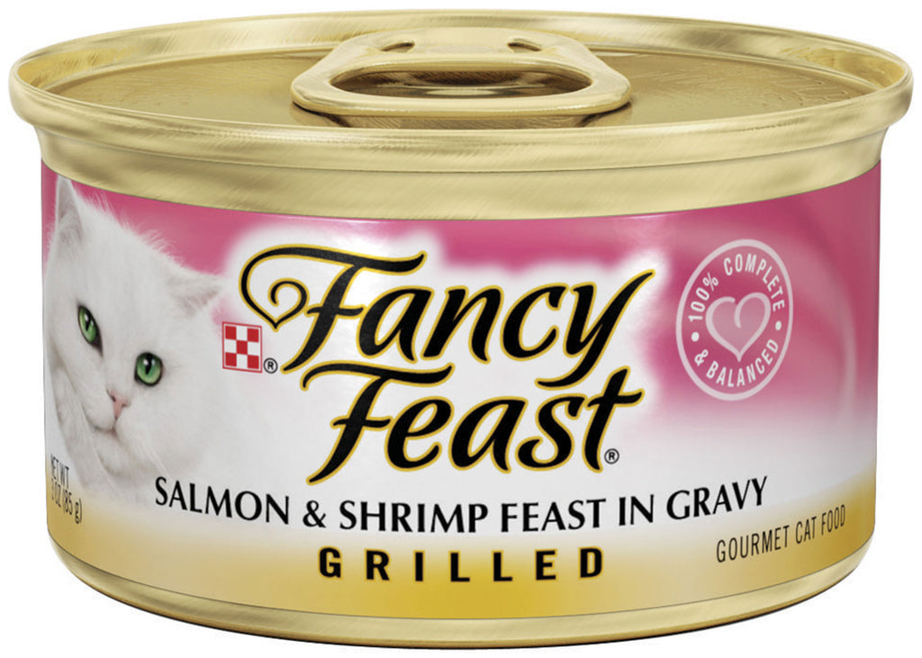 Fancy Feast Grilled Salmon and Shrimp Canned Cat Food