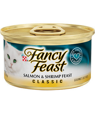 Fancy Feast Classic Salmon and Shrimp Canned Cat Food