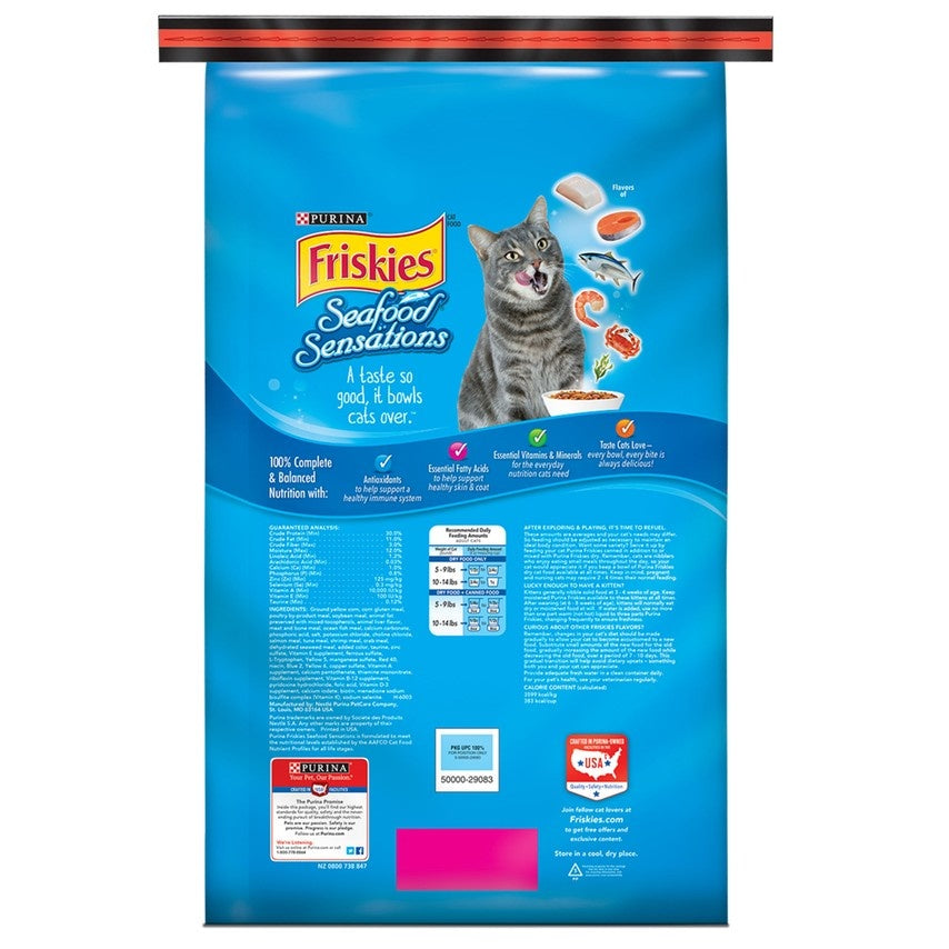 Friskies Seafood Sensations Dry Cat Food