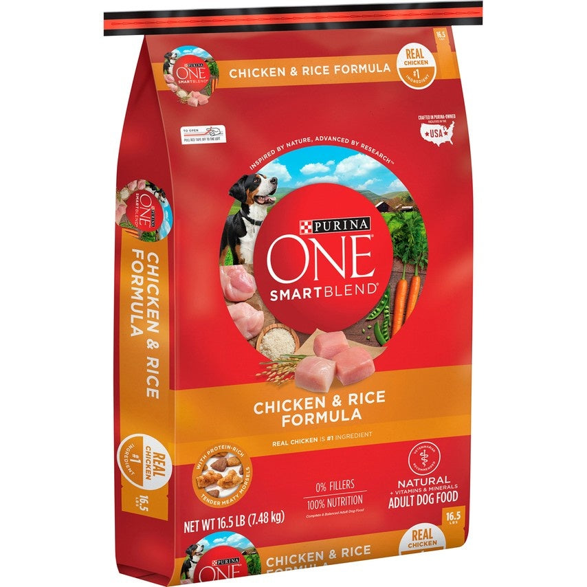 Purina ONE SmartBlend Chicken & Rice Dry Dog Food
