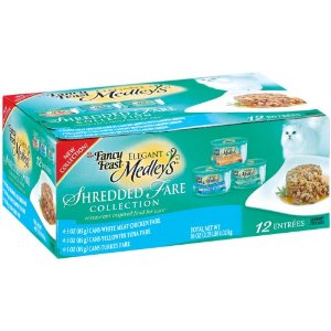 Fancy Feast Elegant Medleys Shredded Fare Collection Canned Cat Food