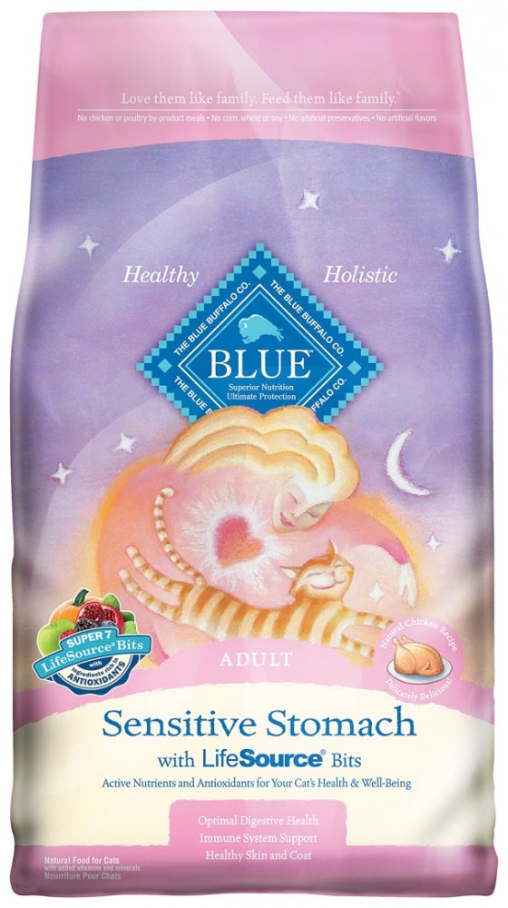 Blue Buffalo Sensitive Stomach Formula Dry Cat Food