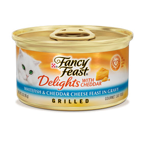 Fancy Feast Delights Whitefish and Cheddar Cheese Canned Cat Food