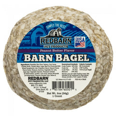 Redbarn Barn Bagels Filled Rawhide Dog Treat