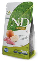 Farmina Prime N&D Natural & Delicious Grain Free Adult Wild Boar & Apple Dry Cat Food