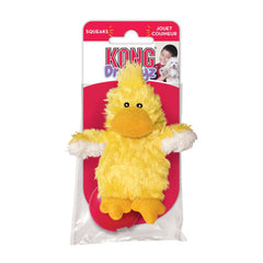 KONG Plush Duck Dog Toy