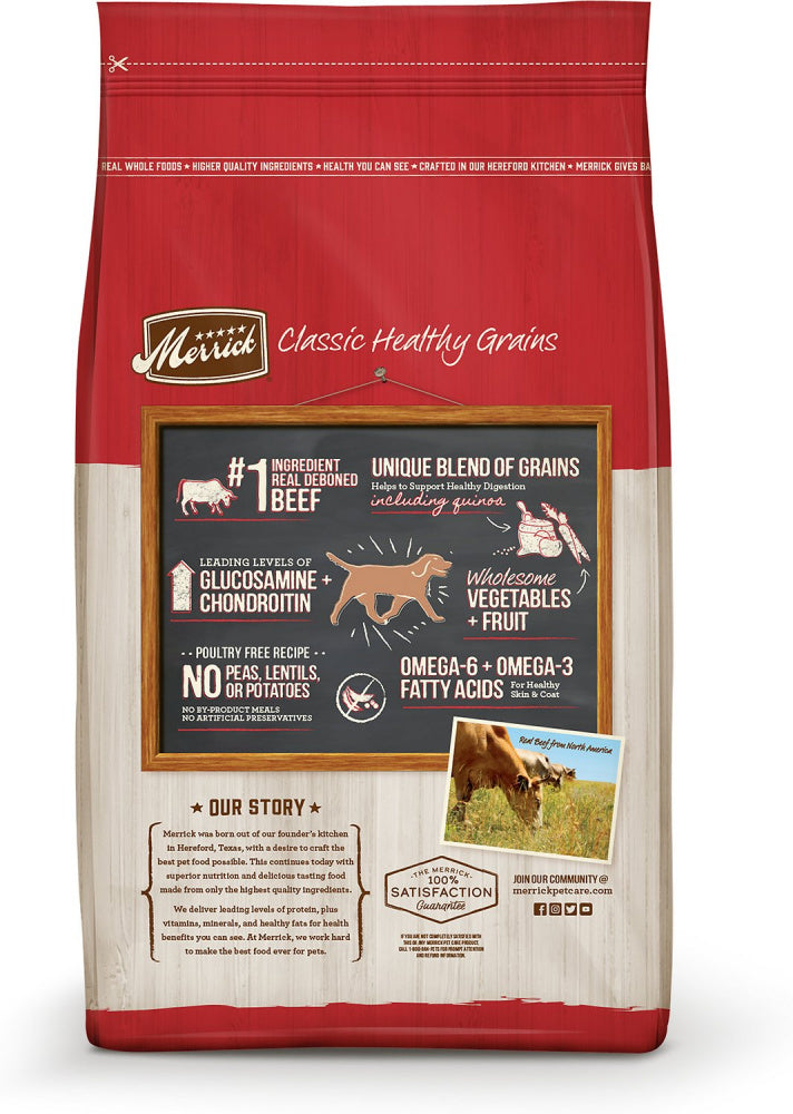 Merrick Classic Beef & Brown Rice Recipe with Ancient Grains Dry Dog Food