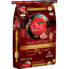 Purina ONE SmartBlend True Instinct Real Turkey & Venison Adult Premium Dry Dog Food