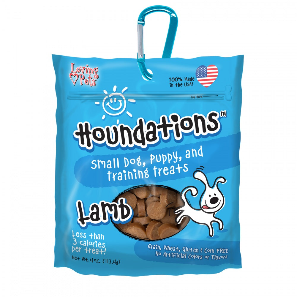 Loving Pets Houndations Grain Free Lamb Training Dog Treats