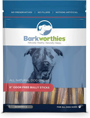 Barkworthies Odor Free All Natural Bully Stick
