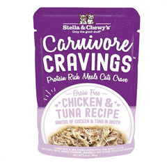 Stella & Chewy's Carnivore Cravings Chicken & Tuna Recipe Wet Cat Food
