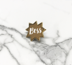 Boss  - Enamel Pin