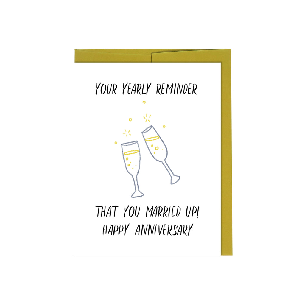 Yearly Reminder - Anniversary Card