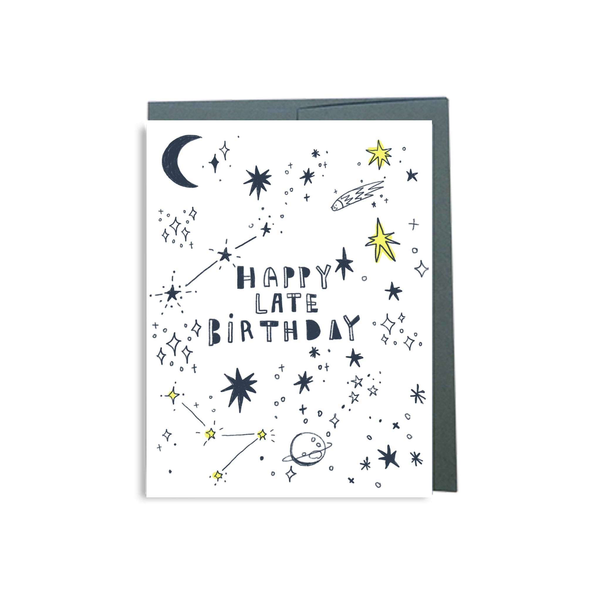 Starry Sky LATE Happy Birthday