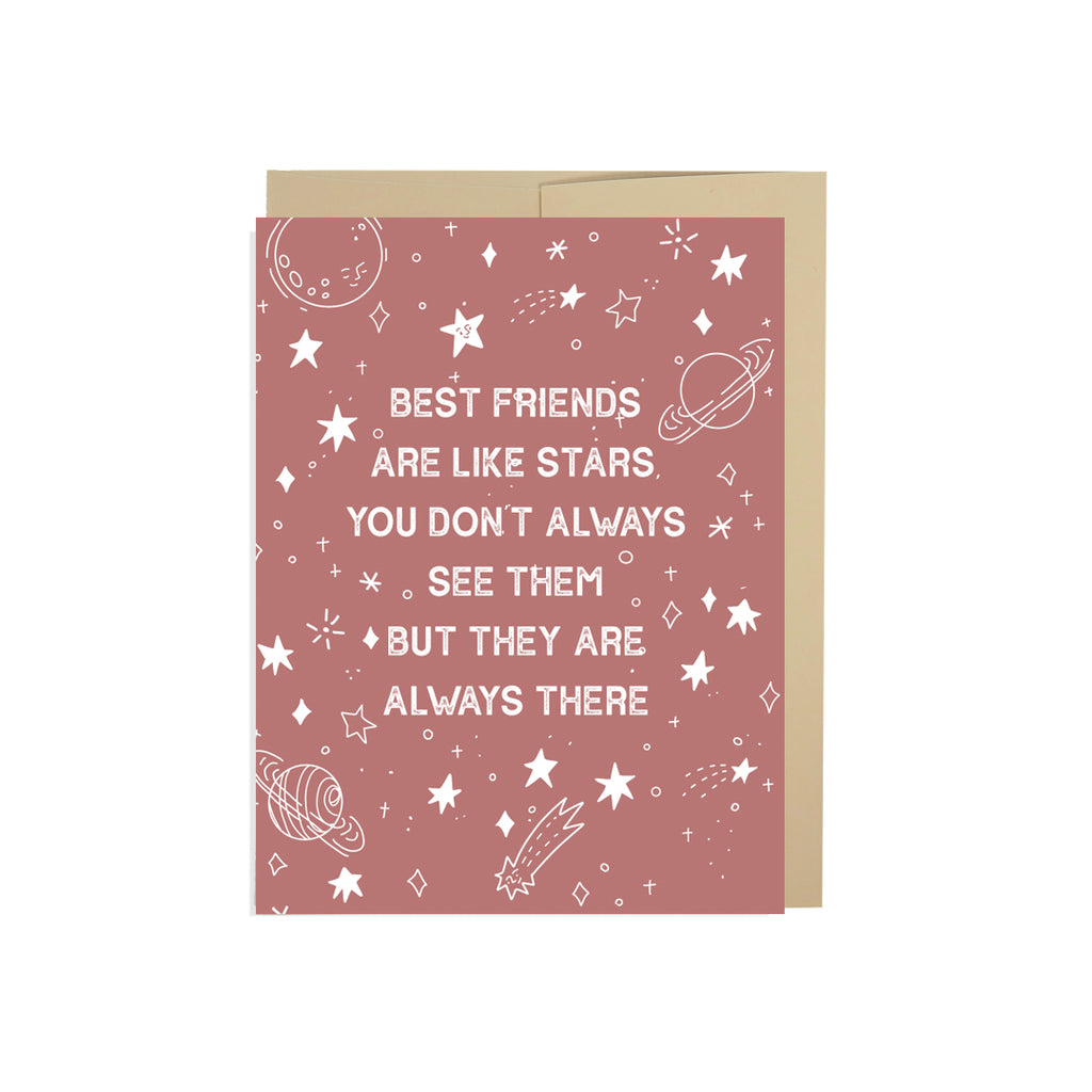 Best Friends Are Like Stars